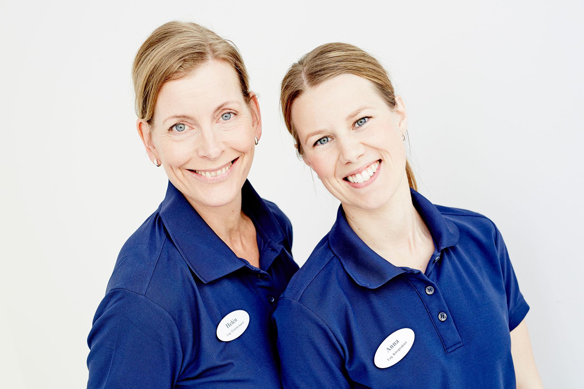 Anna och Helén